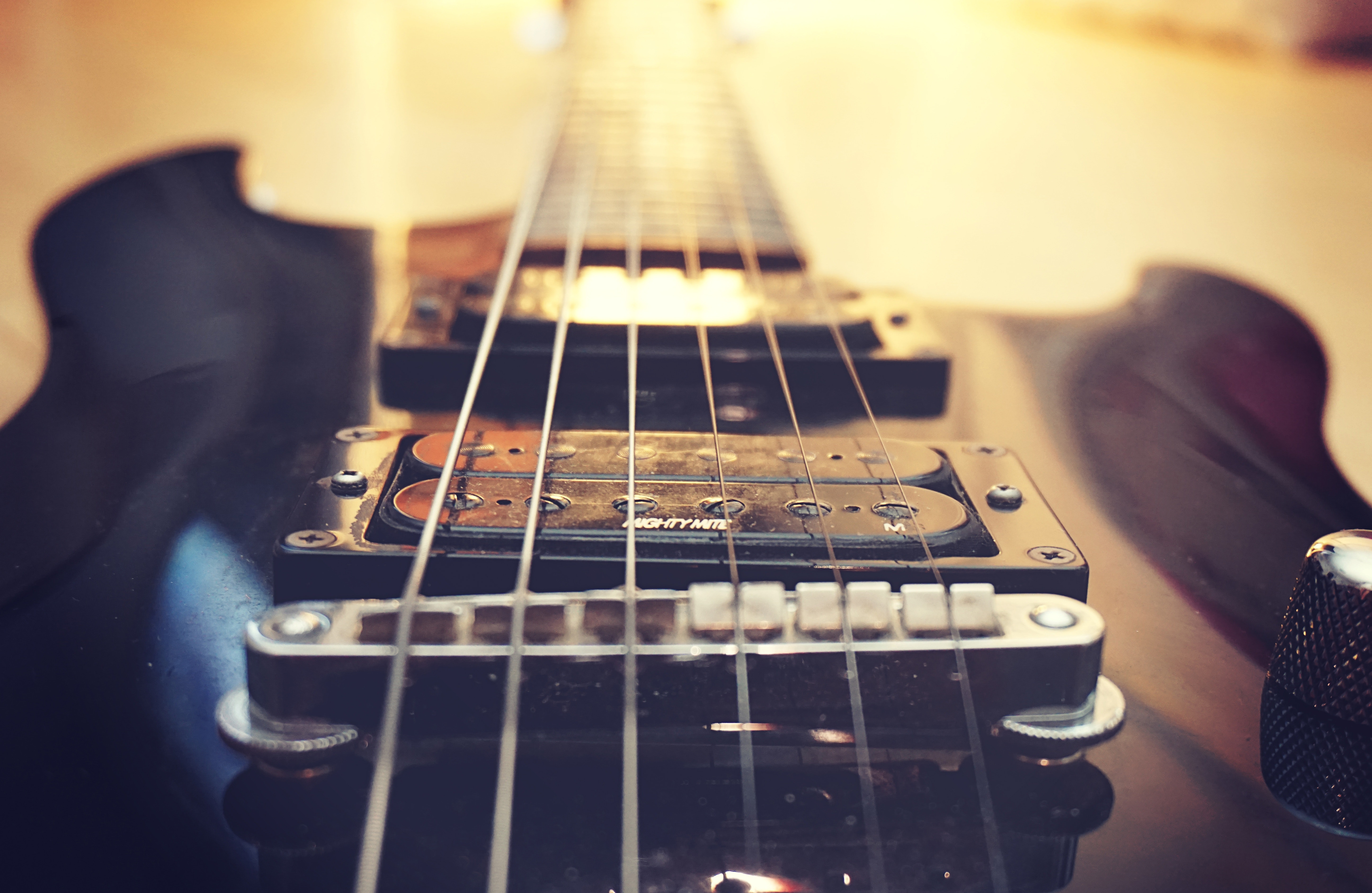 Close-up of Guitar by Pixabay